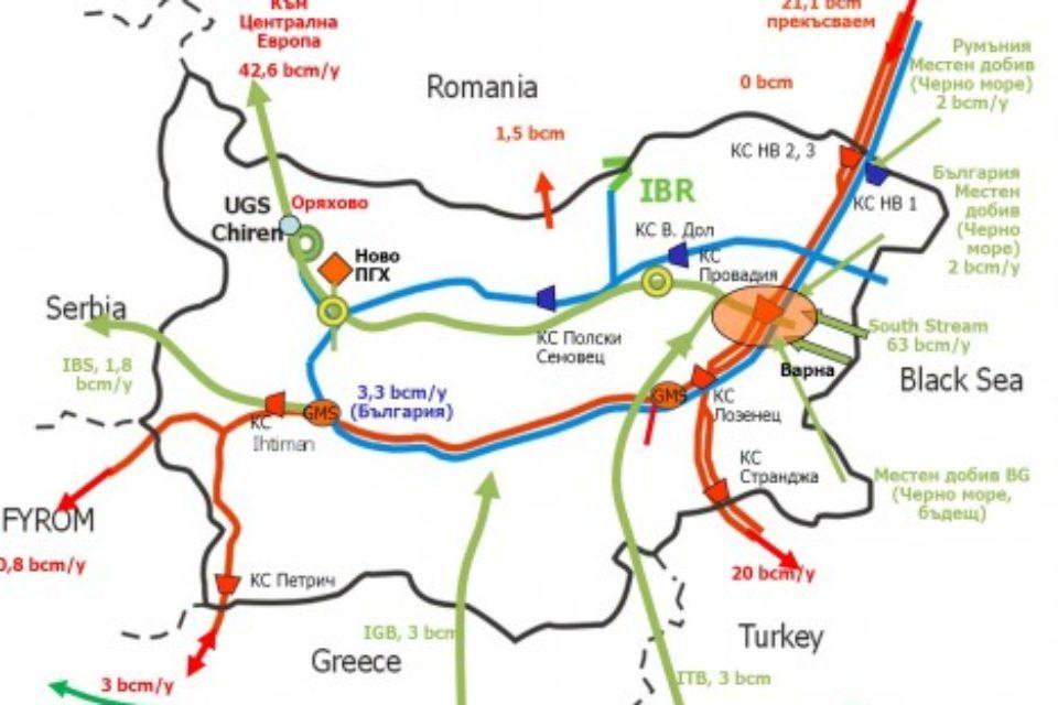 Търси се строител на газовата връзка с Гърция в търг за 145 млн. евро