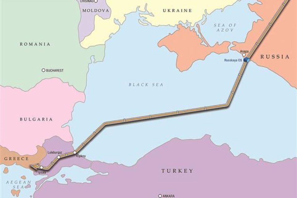 """Започна полагането на тръбите на газопровода """"Турски поток"""""""