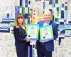 """Логистичният доставчик """"Юнимастърс Лоджистикс"""" получи удостоверение за зелена енергия от ЕНЕРГО-ПРО Енергийни Услуги"""